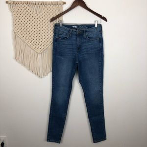 Mossimo High Rise Skinny Jeans Size 10 Long NWOT